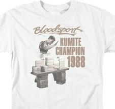 Bloodsport t-shirt 1988 Kumite Champion retro 80s movie graphic tee MGM399 image 2
