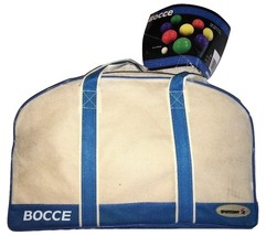 BOCCE Ball Set NEW (8) 100mm balls W/scoring by Sportcraft W Carry Case NEW - $49.91
