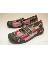 KEEN US 9.5 Red Brown Mary Jane Flats - $44.00