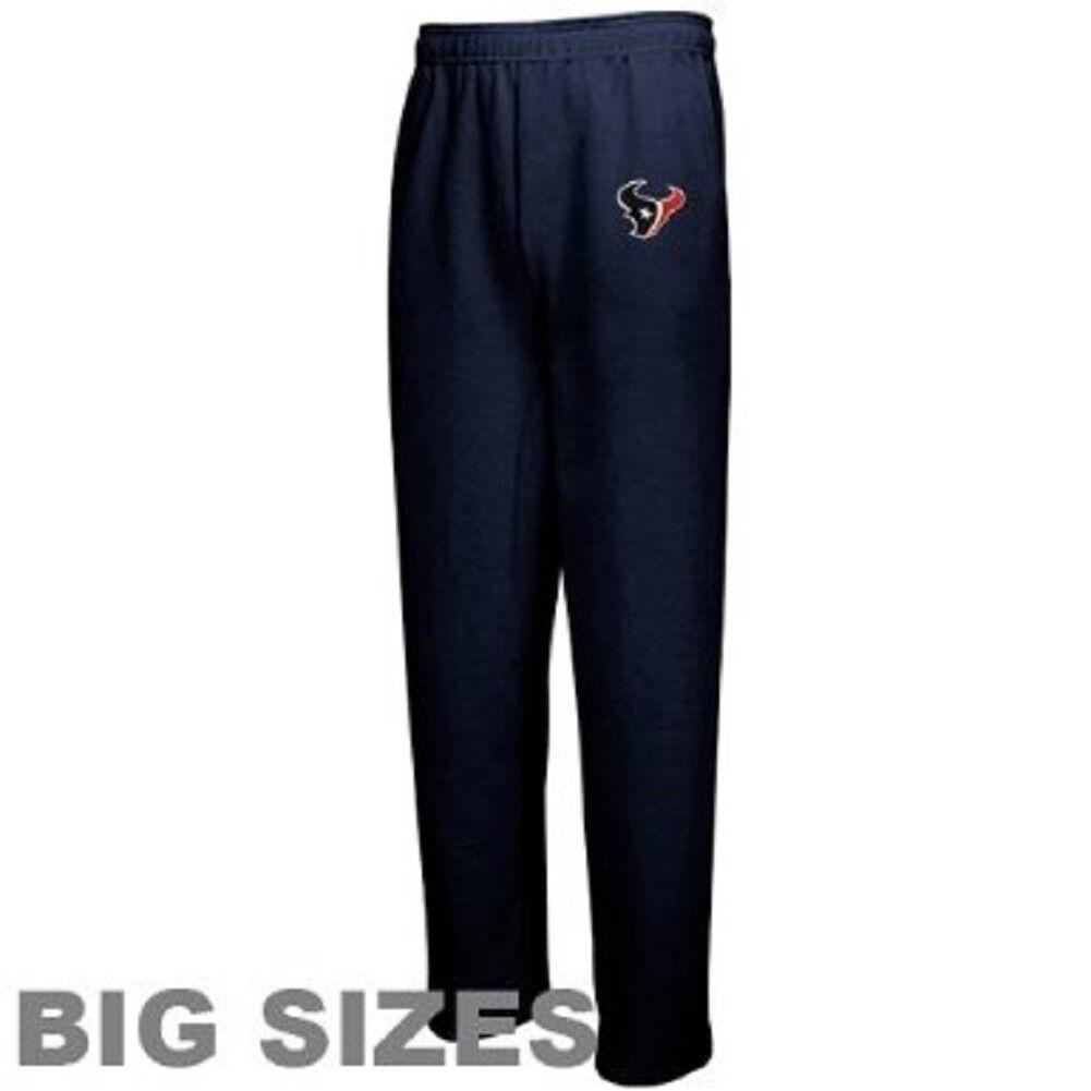 Men's Big Houston Texans Lounge Pajama Pants NFL Team Apparel Sleep Bottoms NEW