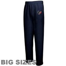 Men's Big Houston Texans Lounge Pajama Pants NFL Team Apparel Sleep Bottoms NEW