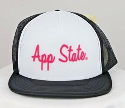 Appalachian State Mountaineers Hat Snapback Mesh Foam Trucker Cap NCAA App State - $24.74