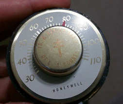 Honeywell Vintage 1950's-1960's Desk Thermometer - LA Country TB & Health - $14.50