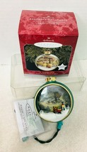 1998 St Nicholas Circle Kinkade Magic Hallmark Christmas Tree Ornament M... - $24.26