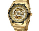 Ical watch gold skeleton vintage watches top brand luxury mens skeleton wristwatch thumb155 crop