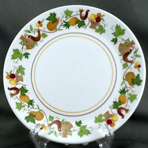 """Noritake Homecoming Bread and Butter Plate 6.25"""" Birds Fruit Progression... - $7.92"""