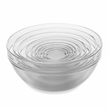 10-Piece Tempered Glass Nesting Mixing and Prep Bowl Set - $48.51
