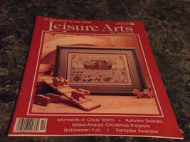 Leisure Arts the Magazine October 1989 BorderLines bibs - $2.69