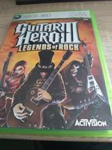 MicroSoft XBox 360 Guitar Hero III: Legends Of Rock image 1