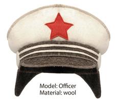 Sauna Hat Wool Felt Russian Hot Banya Cap Viking Officer Lady Cossack Co... - $10.00