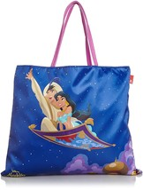 Disney ROOTOTE Aladdin Jasmine Tote Bag Shopping Bag Hand Scarf style For adult  - $86.13