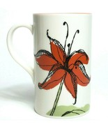 Starbucks Mug Orange Tiger Lily 2006 Tall 12 ounce Cup - $21.03