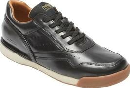 Rockport ProWalker 7100 LTD Sneaker (Men's Shoes) in Black Burnished Lea... - $127.53