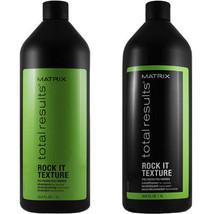 Matrix Total Results Rock It Texture Shampoo & Conditioner 33.8 oz Litter Duo - $36.09