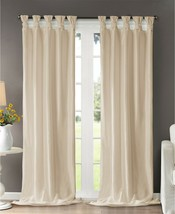 "Madison Park Emilia 50"" X 108"" Faux Silk Twisted Tab Window Panel T4101091 - $28.70"