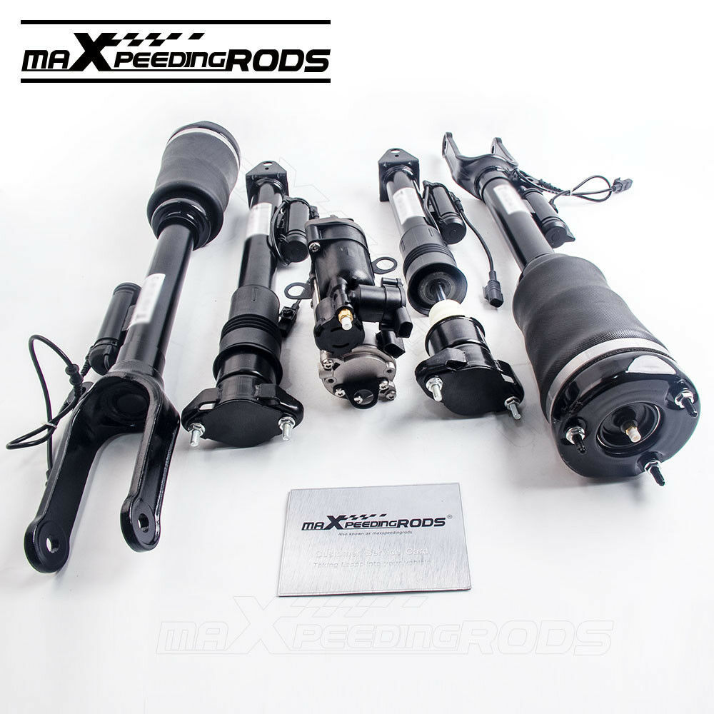 Primary image for 4x Front Rear Shocks Struts & Compressor For Mercedes W164 X164 1643205813