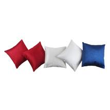 JBK Arts Exclusive Plain Satin Cushion Covers (12x12 inch, Red, White, B... - €23,67 EUR