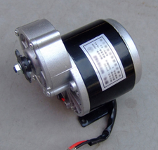24v 350w Electric Bicycle Kits Hub Motor Geared Brush Motors Scooters Eb... - $154.56