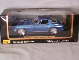 1965 Chevrolet Corvette 1:18 scale diecast Special Edition Maisto - $45.08