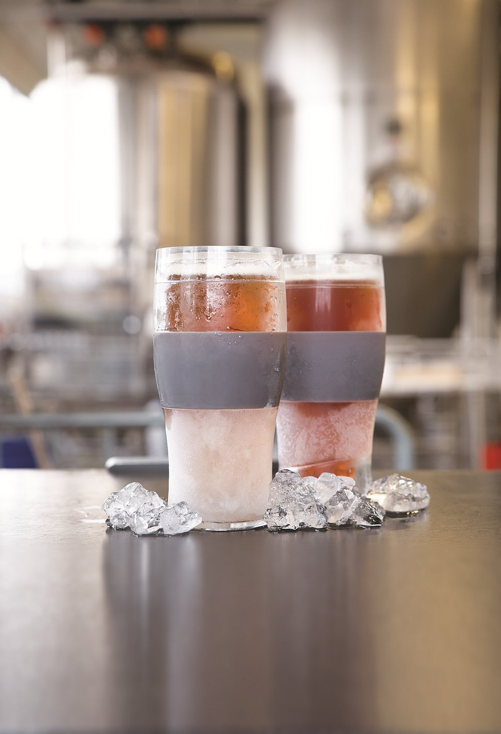 FREEZE  Cooling Pint Glasses Set of 2 by HOST