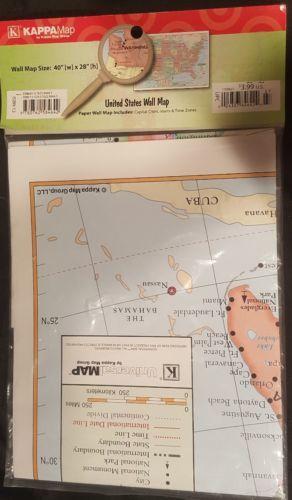Kappa United States Wall Map USA Poster, and 36 similar items