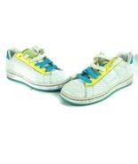 Reebok RB 701 Women's Tennis Sneakers Walking Shoes White Blue Size 7 - $32.69