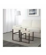 IKEA Rissna Nesting Tables, Set Of 2, Beige - $79.19