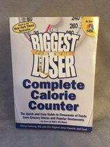 The Biggest Loser Complete Calorie Counter by Cheryl Forberg - $7.99