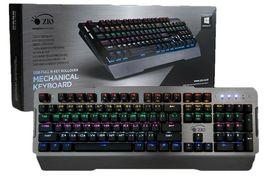 Zio DT70 Mechanical Gaming Keyboard English Korean USB Keyboard (Brown Switch) image 3