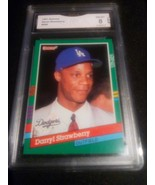 1991 Donruss Darryl Strawberry GMA Graded 8 NM-MT Baseball Card Number 696 - $9.99