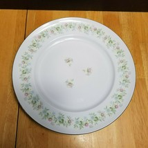 Johann Haviland Forever Spring Dinner Plate White Multi-Color Floral Rim  - $8.86