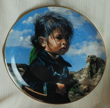 """Hamilton Collection """"Navajo Little One"""" Plate - $12.87"""