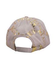 True Religion Mens Gold Metallic All Over Print Cap Sport Strapback Baseball Hat image 4
