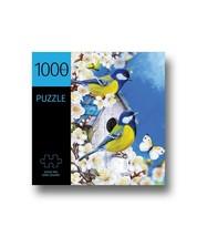 "Birds w/Cherry Blossoms Jigsaw Puzzle 1000 pc 27"" x 20"" Durable Fit Piece image 1"