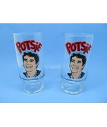 Happy Days Vintage 70's Dr Pepper Drinking Glasses Tumblers Potsie  Display - $17.63