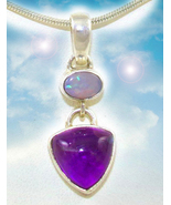 Opal and amethyst necklace 9 thumbtall