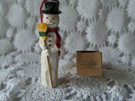 Avon Gift Collection Christmas Craft Ornament Snowman - $7.75