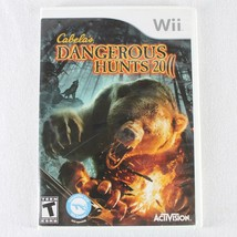 Cabela's Dangerous Hunts 2011 Nintendo Wii Game with Case - $6.99