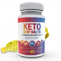 KetoGenxis Keto BHB Salt- Pure BHB Exogenous Ketones Salts 60 Caps - $96.99