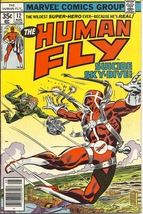 (CB-50) 1978 Marvel Comic Book: The Human Fly #12 - $5.00