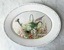 """Marjolein Bastin Wildflower Meadow Oval Serving Platter 14-1/4"""" - $23.70"""