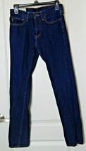 Abercrombie & Fitch Kids Boy's Jeans Size 16 Slim Skinny Dark Wash Blue - $30.00