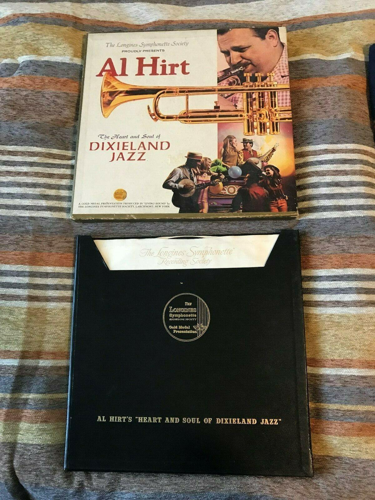 "(5) VINYL RECORD SET of AL HIRT ""THE HEART AND SOUL OF DIXIELAND JAZZ"""