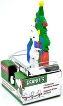 Kurt S Adler Peanuts Snoopy with Presents & Christmas Tree Stocking Holder image 2
