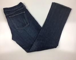 J.Crew Matchstick  Stretch Fit Dark Blue Cotton Straight Leg Jeans Sz 32... - $14.99