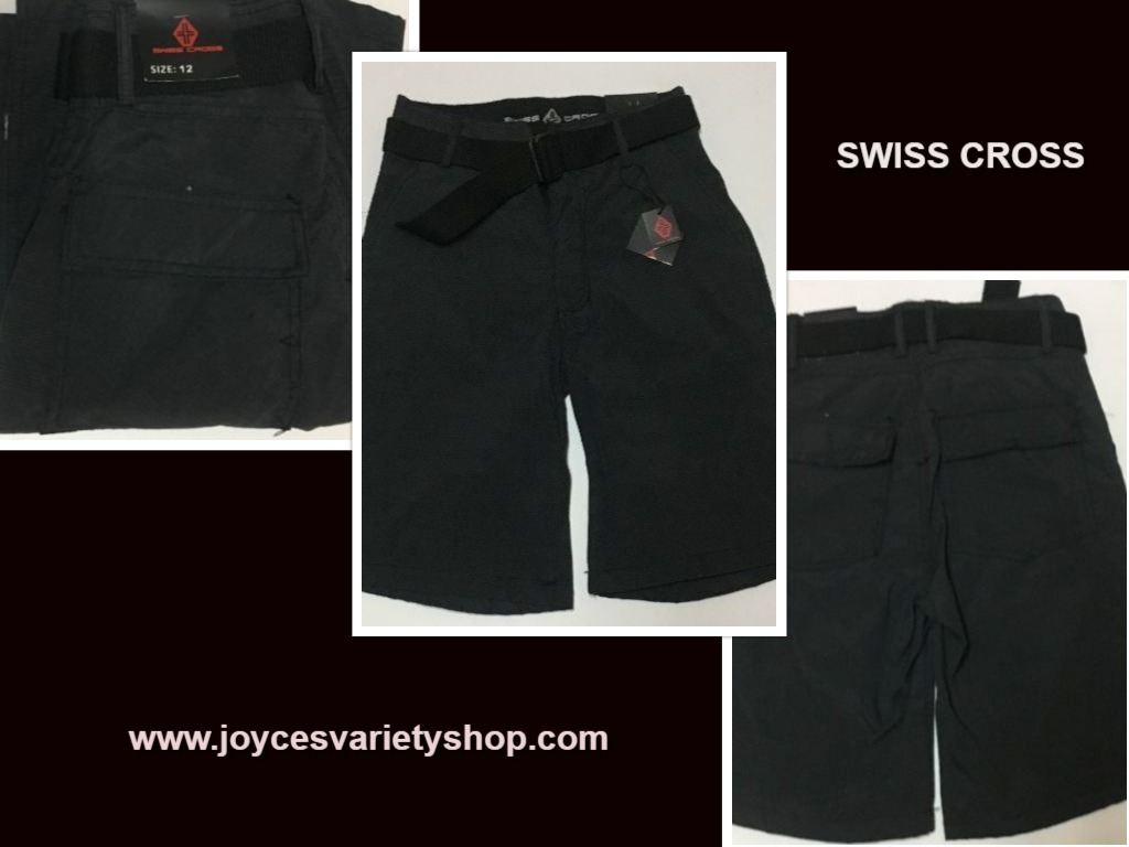 Swiss cross boys shorts 12 web collage