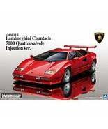 Aoshima 1/24 Lamborghini Countach 5000 Quattrovalvole Injection Ver. Mod... - $66.98