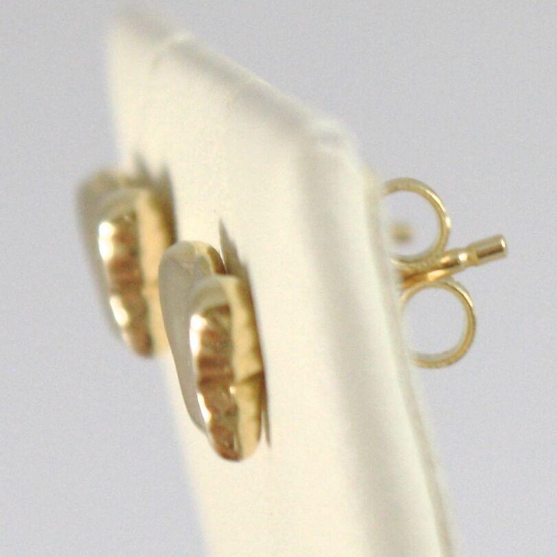 Ohrringe aus Gold Gelb 750 18K A Lobo,Schmetterlinge,Schmetterling,Länge 0.7 CM