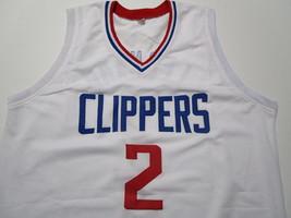 KAWHI LEONARD / NBA MVP / AUTOGRAPHED L.A. CLIPPERS WHITE CUSTOM JERSEY / COA image 2