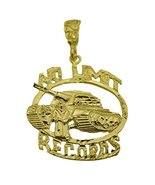 HUGE NEW No Limit Soldier Pendant Charm Records Jewelry Genuine 24K Gold... - $145.28